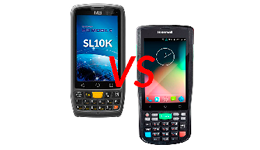 Сравнение Honeywell EDA50 и M3 Mobile SL10