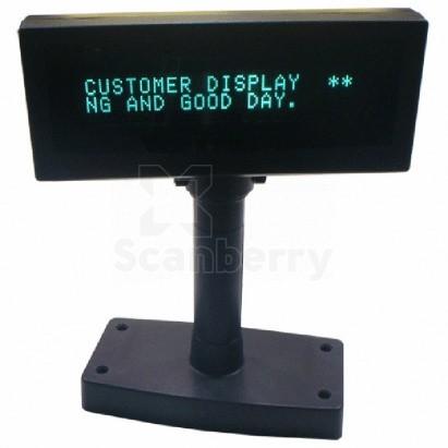 Дисплей покупателя Puritron ICD-2002F 280215МБ 2*20, RS, USB, 5V