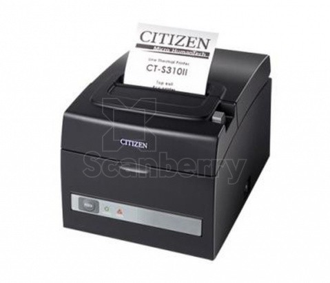 Принтер чеков Citizen CT-S310II CTS310IIEBK  фото в интернет-магазине Scanberry