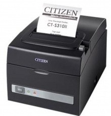 Принтер чеков Citizen CT-S310II CTS310IIXEEBX USB, Ethernet, 203 dpi, 80, 160 мм/сек