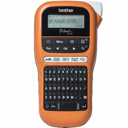Принтер наклеек Brother P-touch PT-E110VP PTE110VPR1