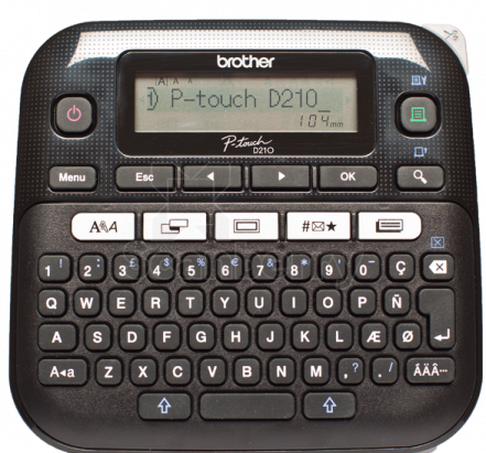 Принтер наклеек Brother PT-D210 PTD210R1