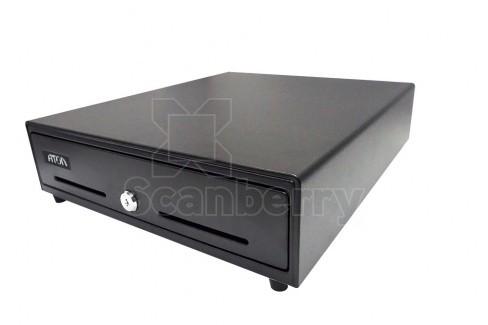 Денежный ящик АТОЛ EC-350-B черный, 24V, для Штрих-ФР (39759)