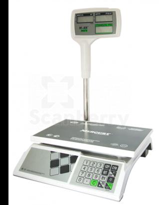 "Весы торговые Mercury M-ER 326ACPX-15.2 ""Slim'X"" LCD MER3048"