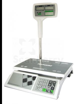 """Весы торговые Mercury M-ER 326ACPX-15.2 """"Slim'X"""" LED MER3050"""