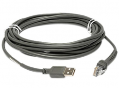 Кабель Datalogic, OEM USB, External Power, Straight, 4.5 m/15 ft , Magellan 8400 (8-0863-03)