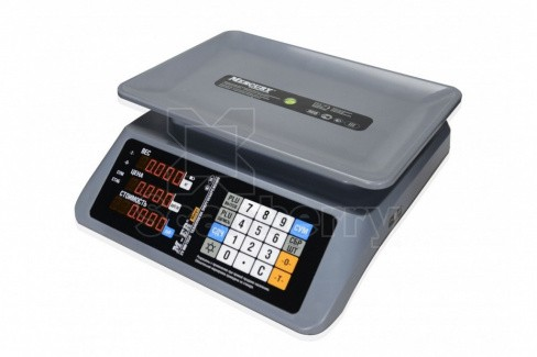 """Весы торговые Mercury M-ER 320AC-32.5 """"MARGO"""" LCD MER3039"""