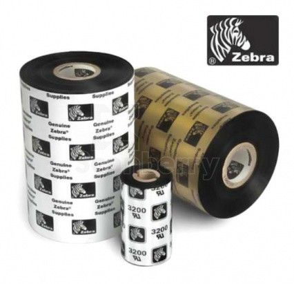 Красящая лента Воск  Zebra 2300 110/74 (800130-004)