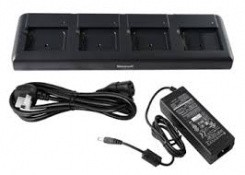 Зарядное устройство HONEYWELL Dock For recharging up to 4 batteries. Kit includes Dock, Power Supply and Power Cord (EU) (EDA50-QBC-C)