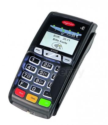 Платежный электронный терминал ICT250 GPRS Ethernet Modem Color screen Contactless с ПО начального уровня (36224)