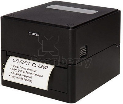 Принтер чеков Citizen CL-E303 CLE303XEBXXX фото в интернет-магазине Scanberry