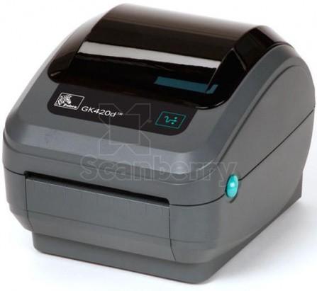 Принтер печати этикеток Zebra GK420d GK42-202521-000