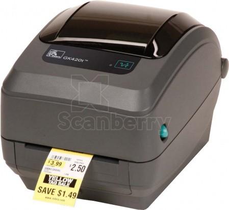 Термотрансферный Принтер этикеток Zebra GK420t GK42-102220-000