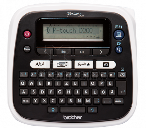 Термотрансферный Принтер Brother PTD200 PTD200VPR1