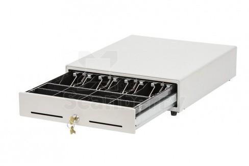 Денежный ящик АТОЛ EC-350-W белый, 350*405*90, 24V, для Штрих-ФР (40220)