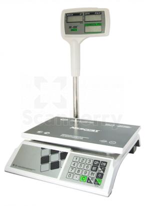 "Весы торговые Mercury M-ER 326ACPX-32.5 ""Slim'X"" LCD MER3049"
