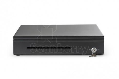 Денежный ящик АТОЛ CR-310-B черный, 400*410*85, 24V, для Штрих-ФР (45305)